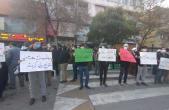 گزارش تصویری  تجمع مردم مشهد در محکومیت ترور دانشمند هستهای